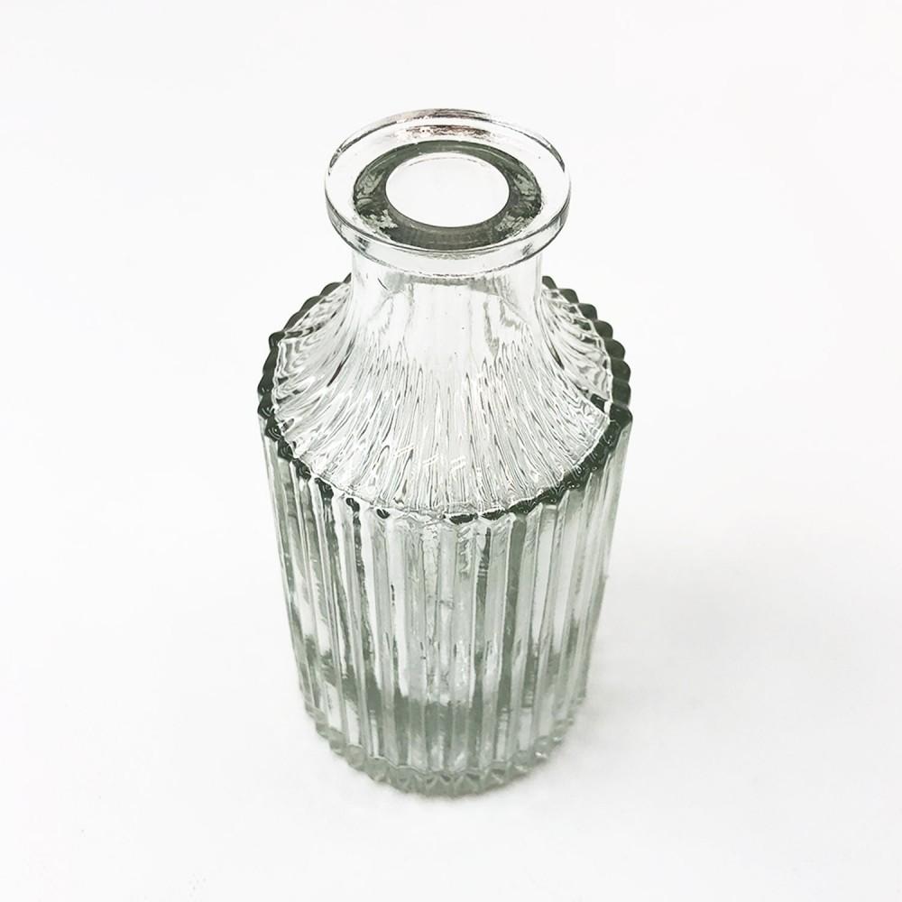 Frasco vidro transparente 14cm - Foto 3