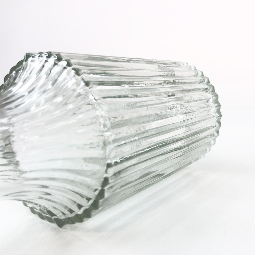 Frasco vidro transparente 14cm - Foto 4