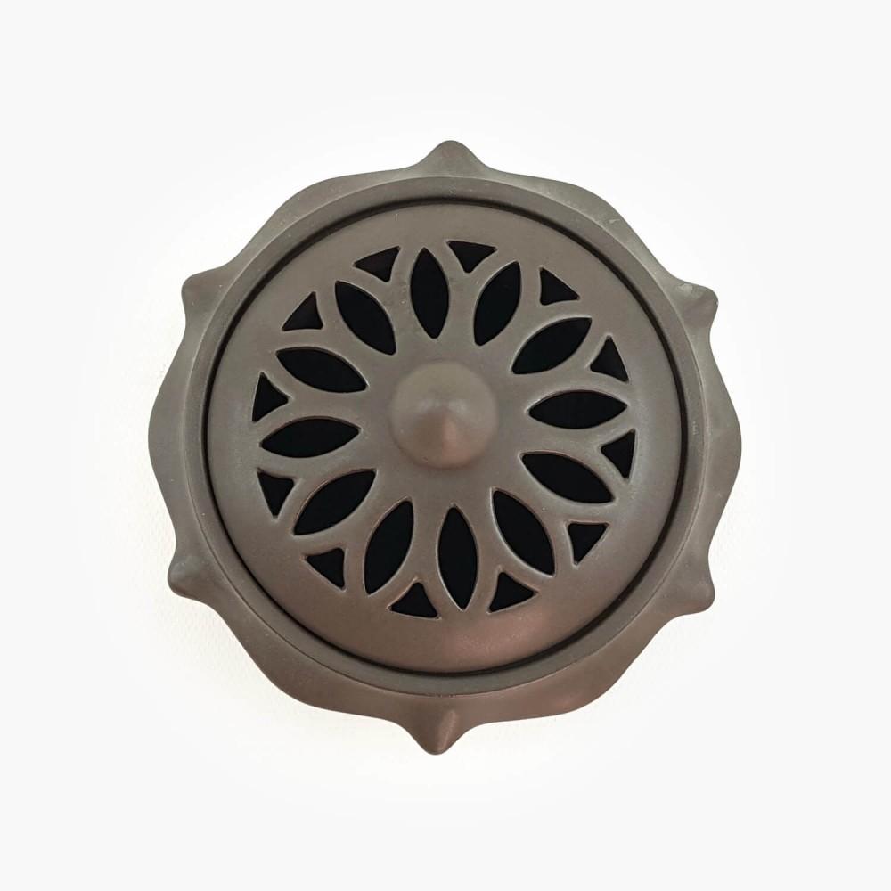 Incensário Caldeirão Chumbo - 12x8cm - Foto 3