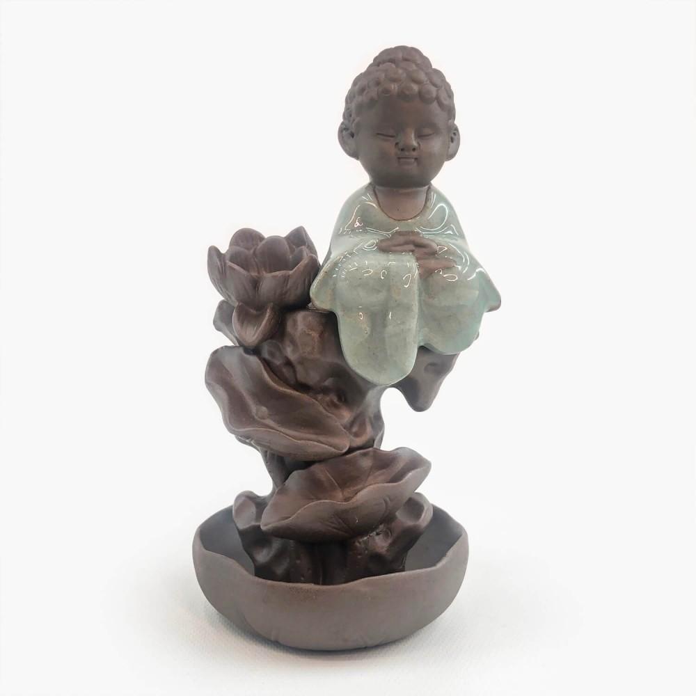 Incensário Buda 14cm - Foto 1