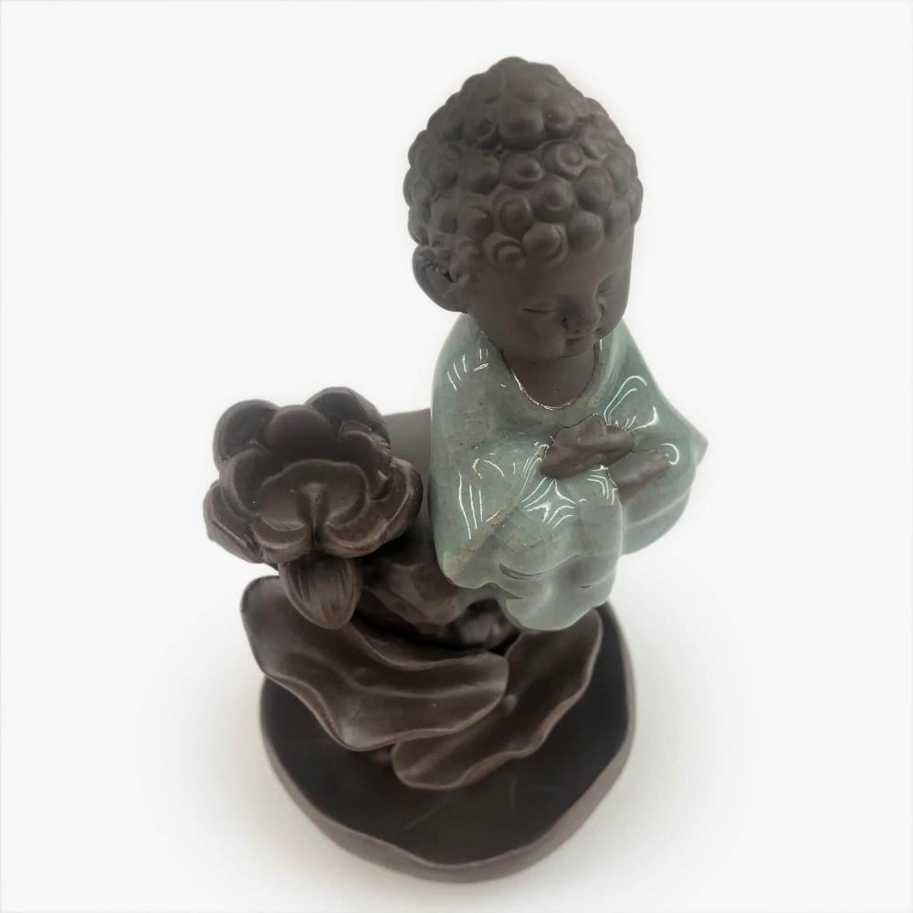 Incensário Buda 14cm - Foto 2
