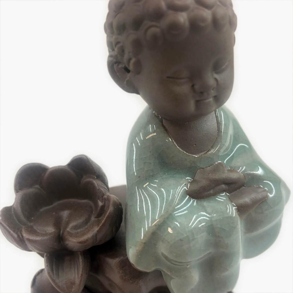 Incensário Buda 14cm - Foto 4