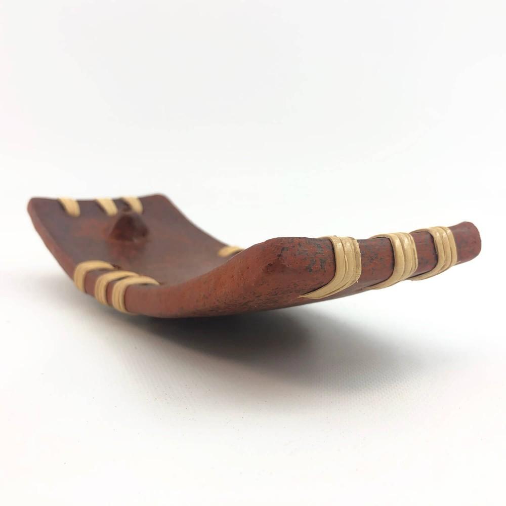Incensário Cerâmica Lombok 20x8 - Foto 4