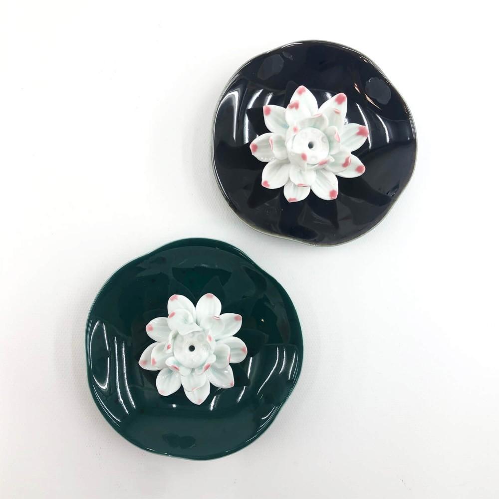 Incensário Flor de Lótus 10cm - Foto 2