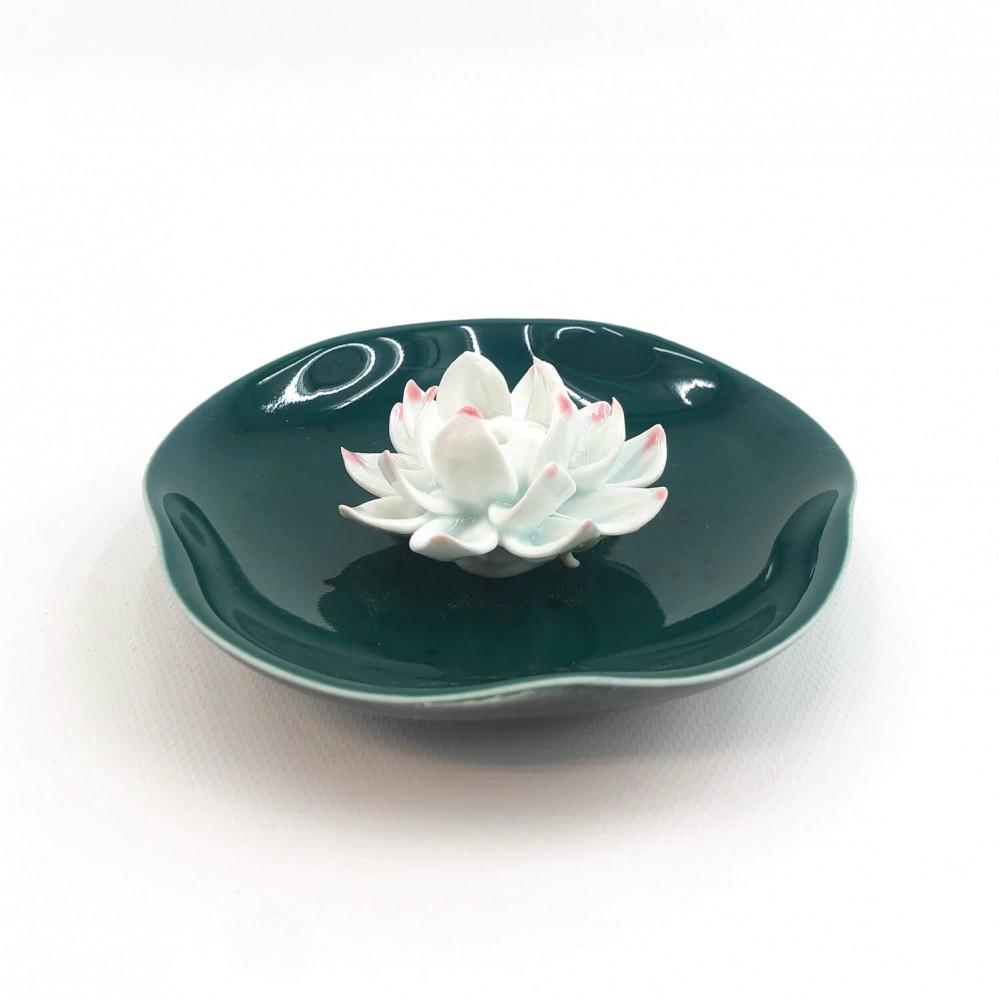 Incensário Flor de Lótus 10cm - Foto 4
