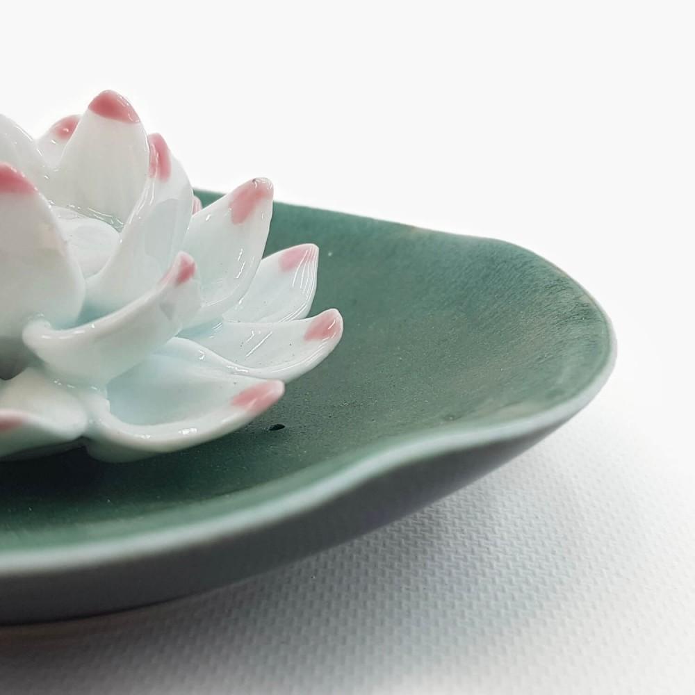 Incensário Flor de Lótus 11cm  - Foto 3