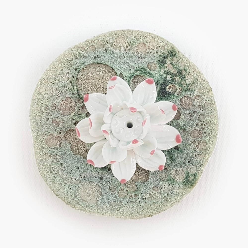Incensário Flor de Lótus 11cm  - Foto 2