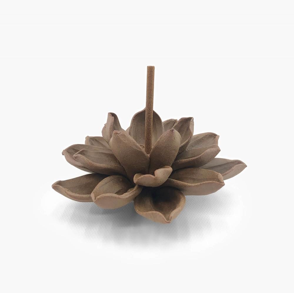 Incensário Flor de Lótus 12cm - Foto 1