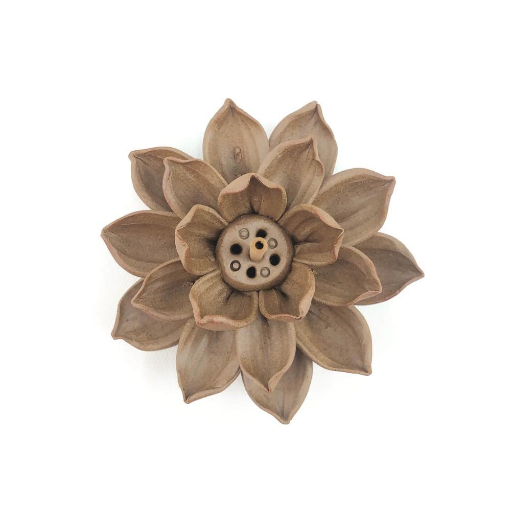 Incensário Flor de Lótus 12cm - Foto 2