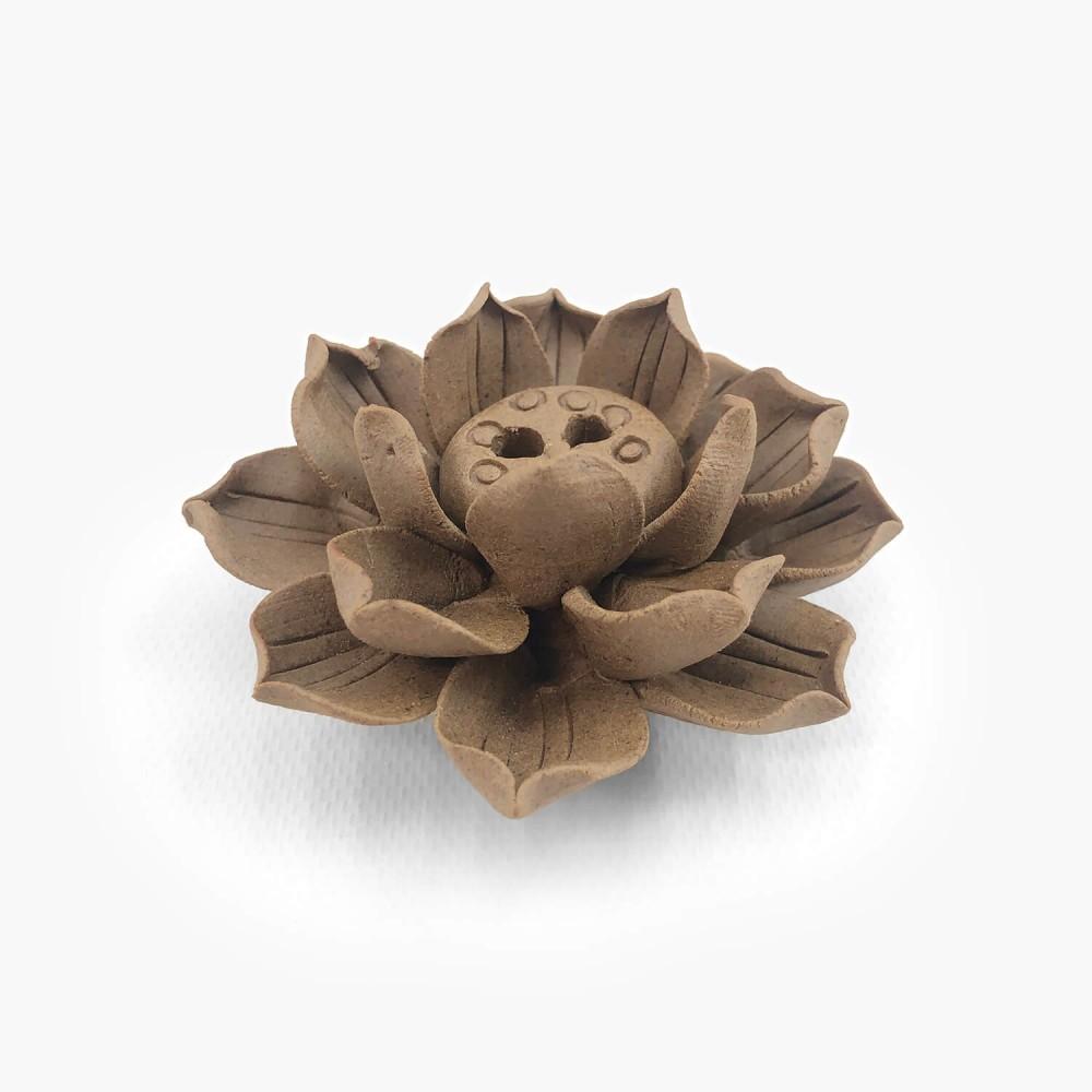 Incensário Flor de Lótus 6,5cm  - Foto 1