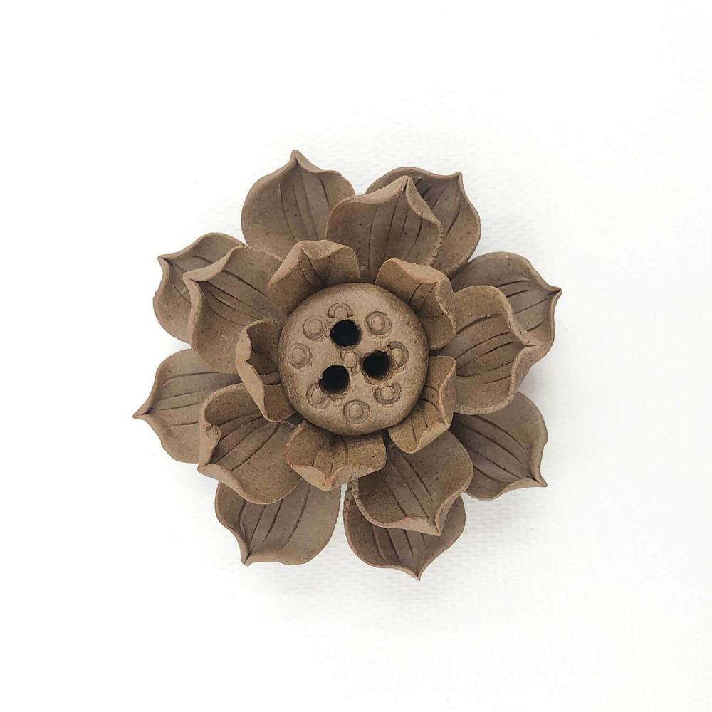 Incensário Flor de Lótus 6,5cm  - Foto 2
