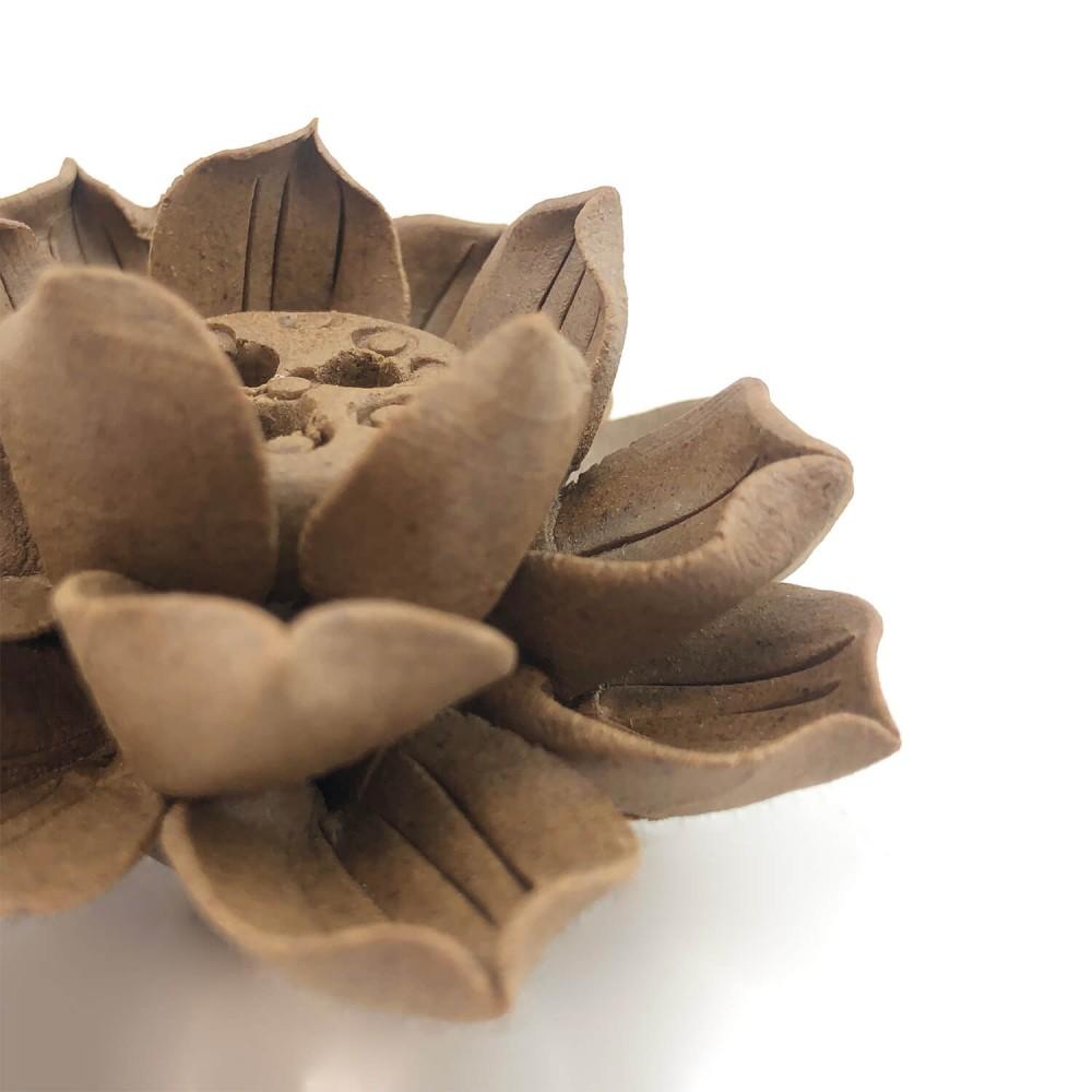 Incensário Flor de Lótus 6,5cm  - Foto 3