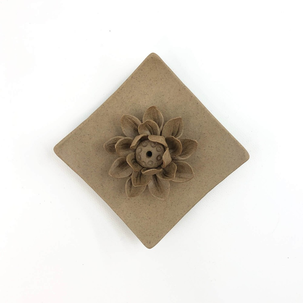 Incensário Flor de Lótus 9,5cm - Foto 3