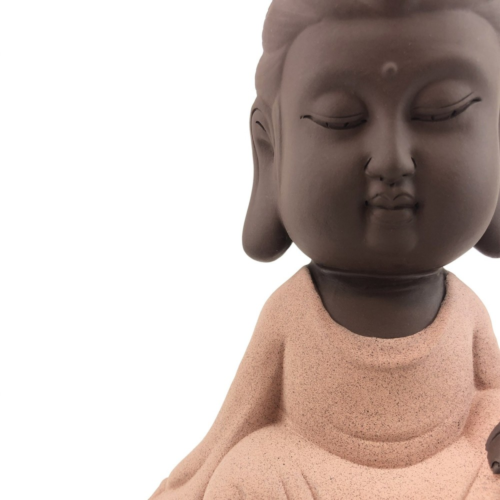 Incensário Kwan Yin Efeito Cascata 25cm - Foto 5