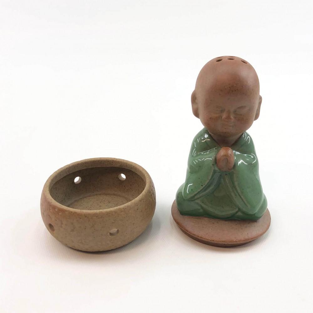 Incensário Monge Cerâmica  - Foto 3
