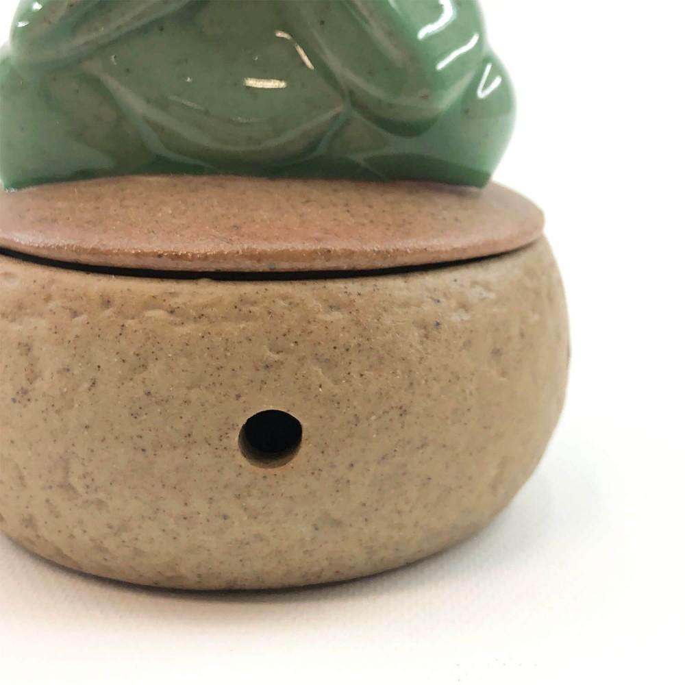 Incensário Monge Cerâmica  - Foto 4