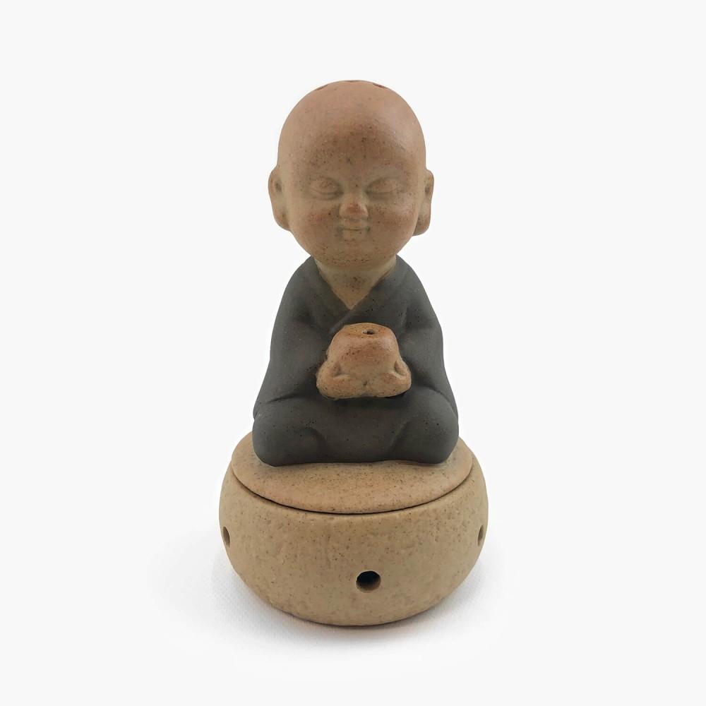 Incensário Monge Cerâmica  - Foto 1