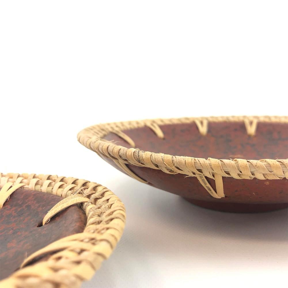 Incensário Redondo Cerâmica Lombok  - Foto 2