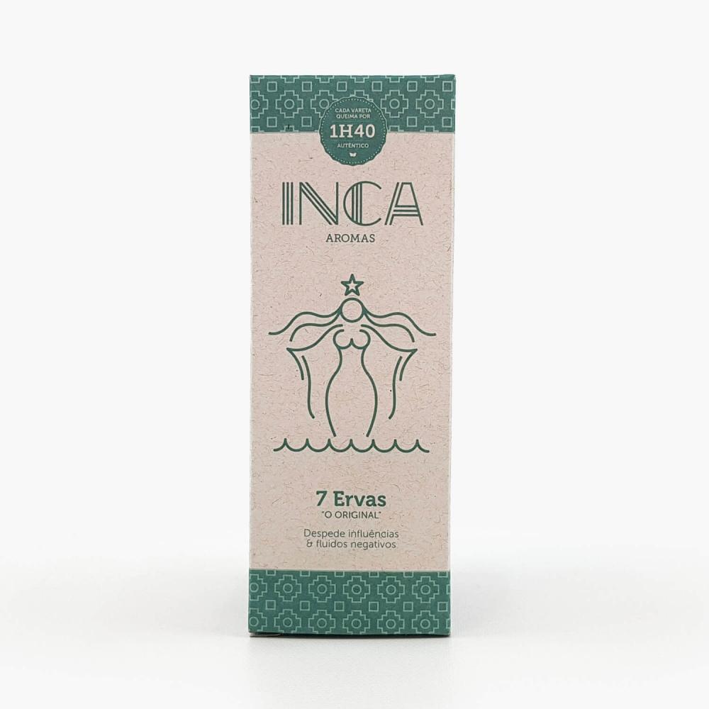 Incenso Inca 7 Ervas - Foto 1