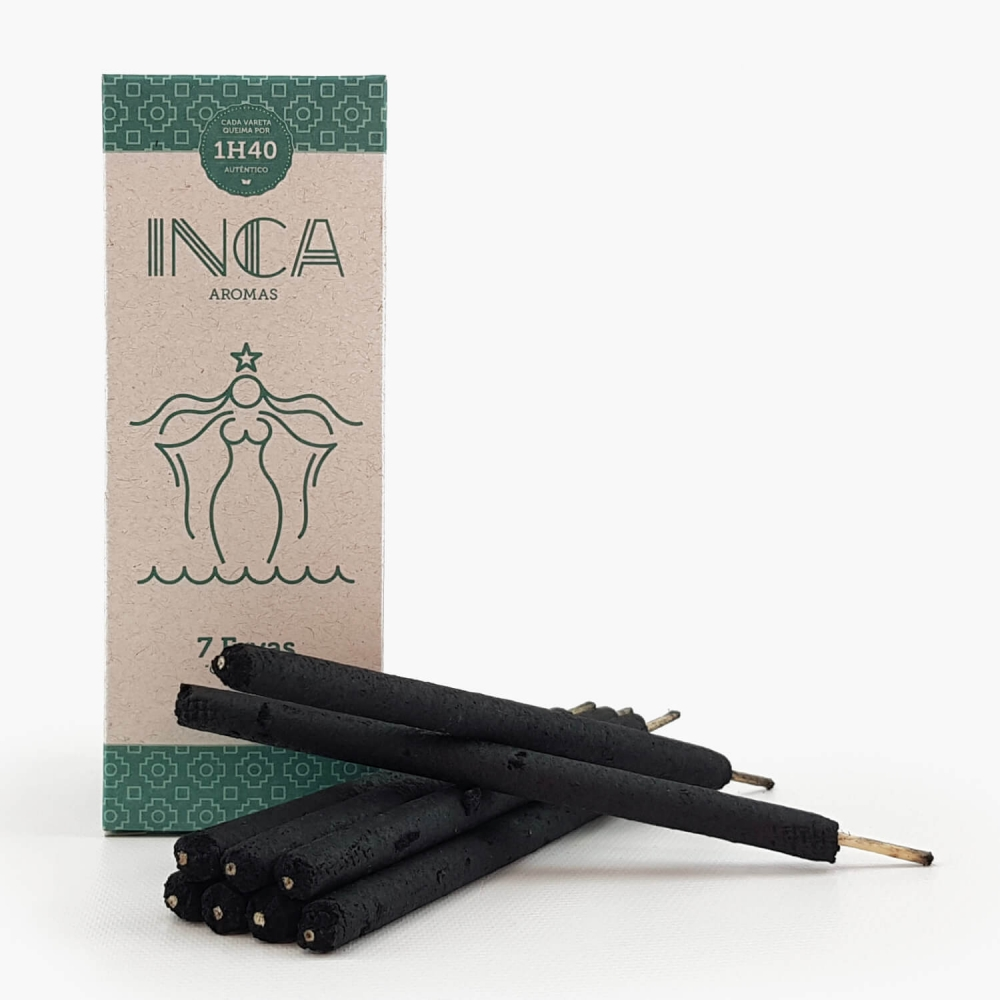 Incenso Inca 7 Ervas - Foto 2