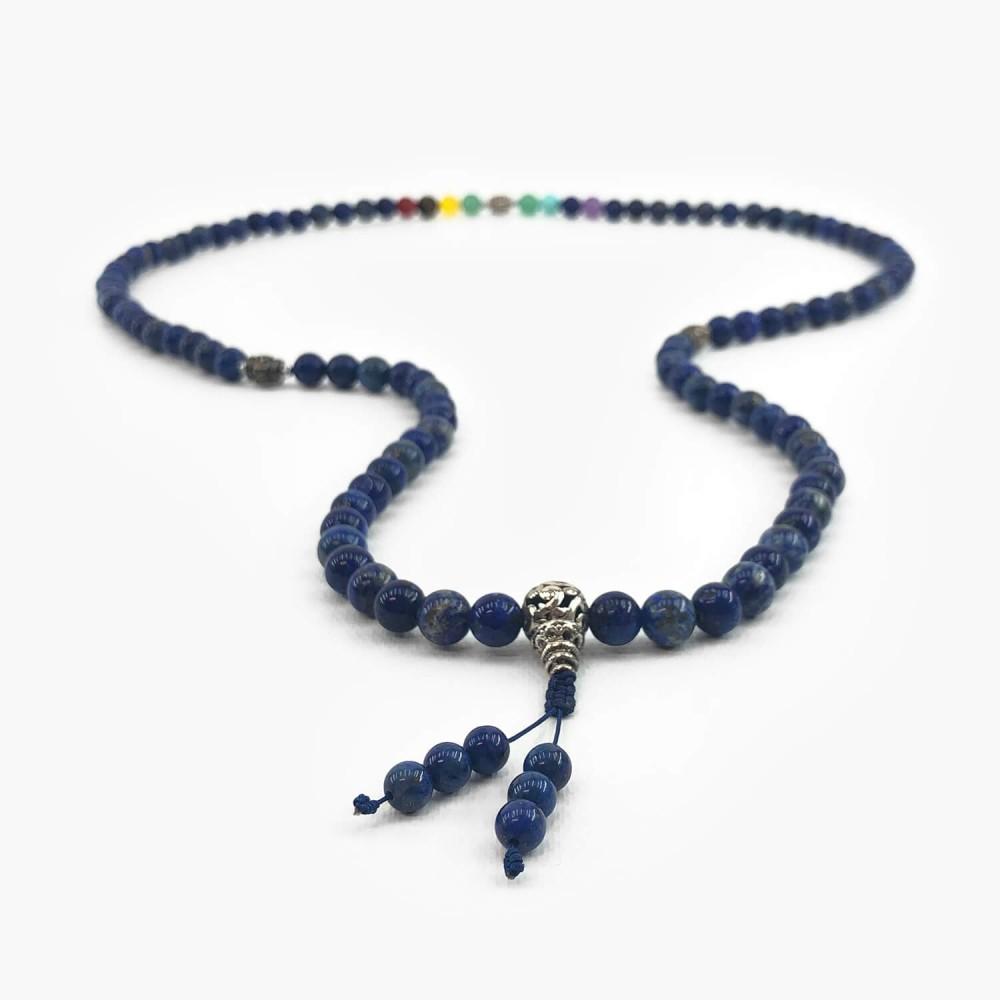 Japamala Chakras Lapis Lazuli  - Foto 1