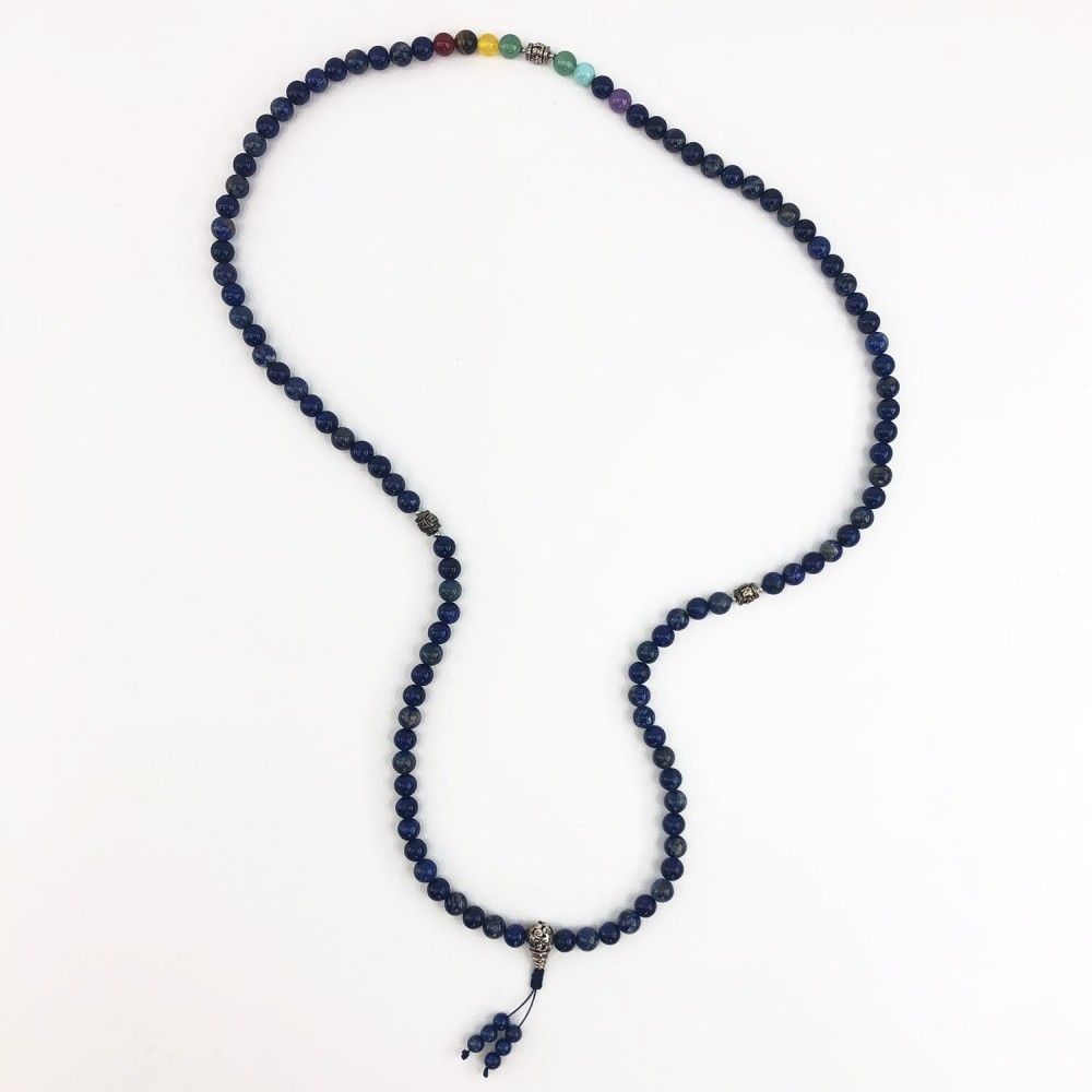 Japamala Chakras Lapis Lazuli  - Foto 3