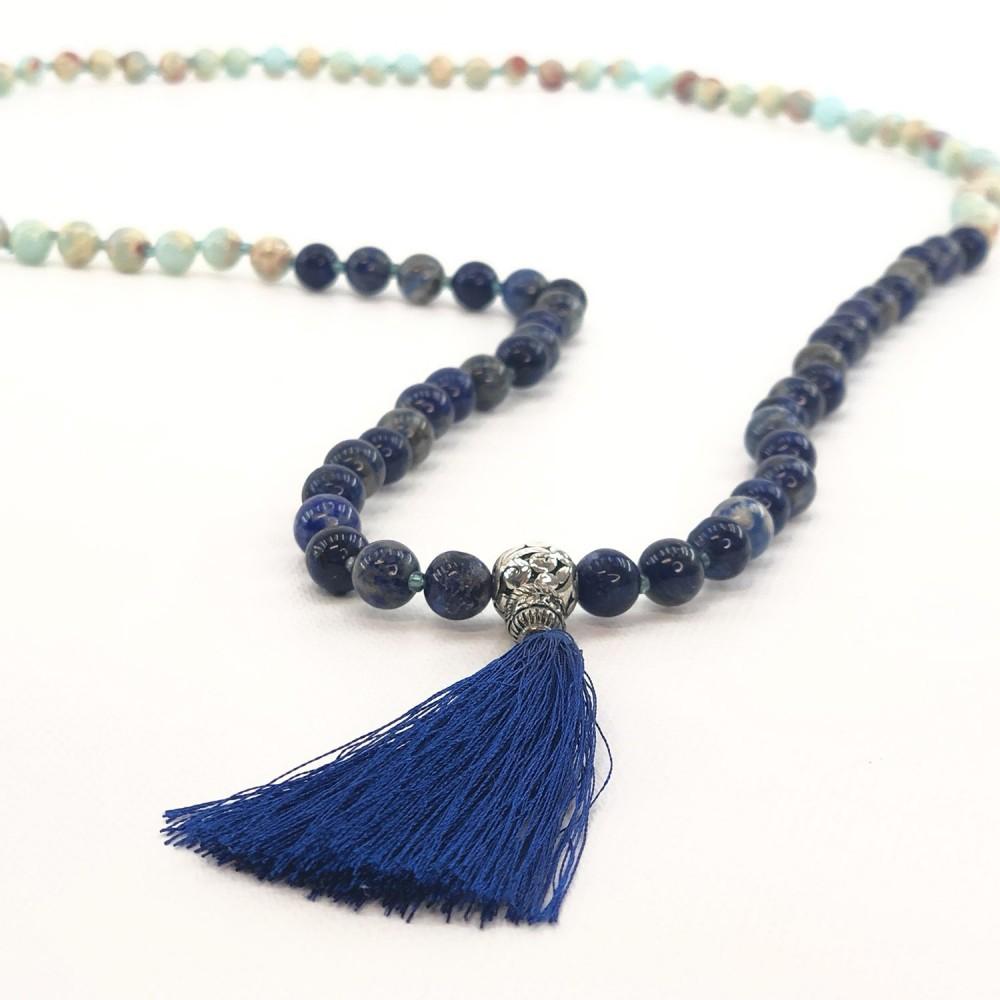 Japamala Lapis Lazuli e Agalmatolito - Foto 2