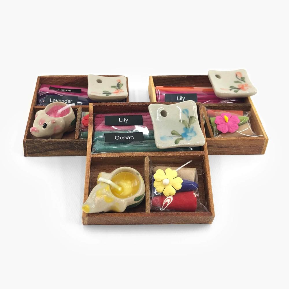 Kit Presente Thai Mix Fragrance 7,5x7,5 - Foto 1