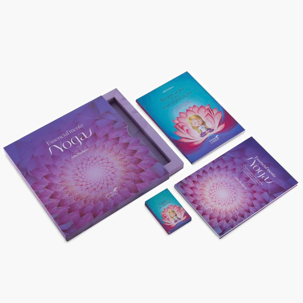 Livro Kit Essencialmente Yoga (2 livros + cartas) - Foto 1