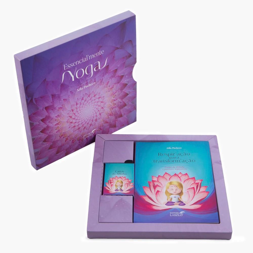 Livro Kit Essencialmente Yoga (2 livros + cartas) - Foto 2