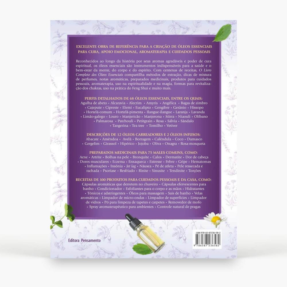 Livro - O Livro Completo dos Óleos Essenciais - Foto 2