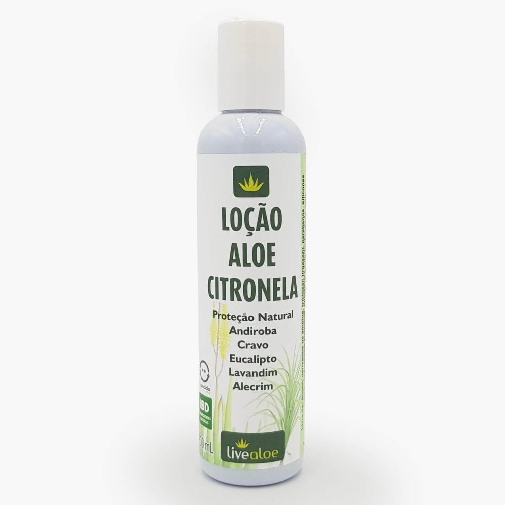 Loção Hidratante Aloe Citronela - Foto 1