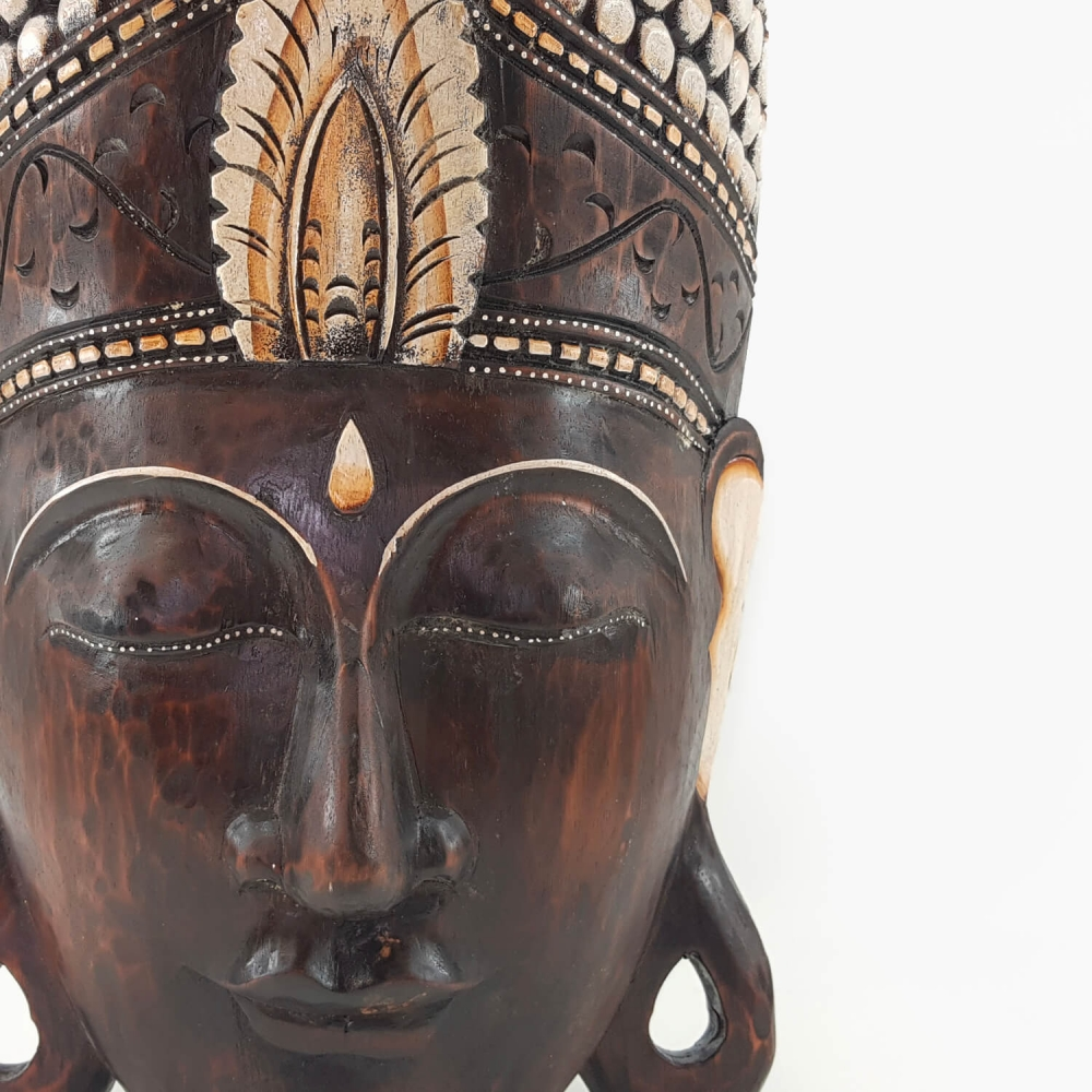 Máscara Buda - Foto 2