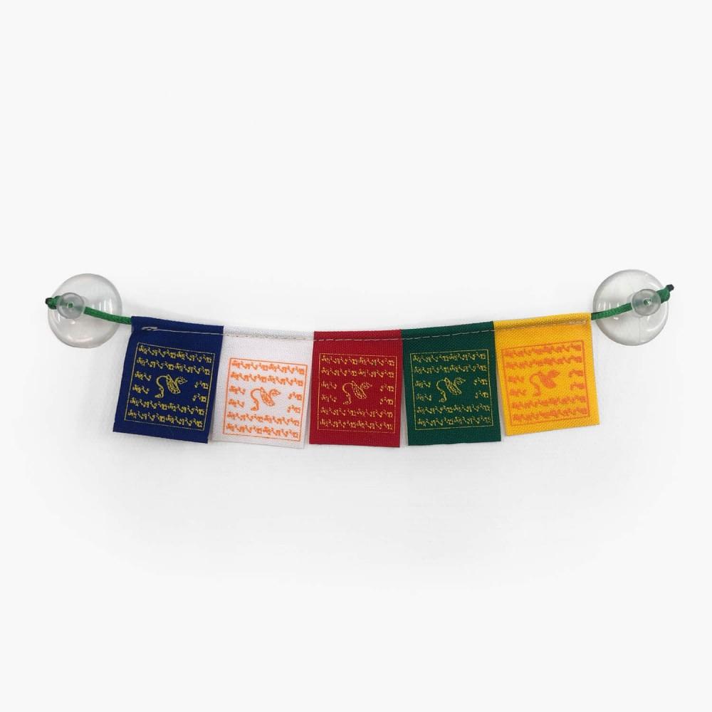 Bandeiras de Oração Mini Tara Verde - Foto 2