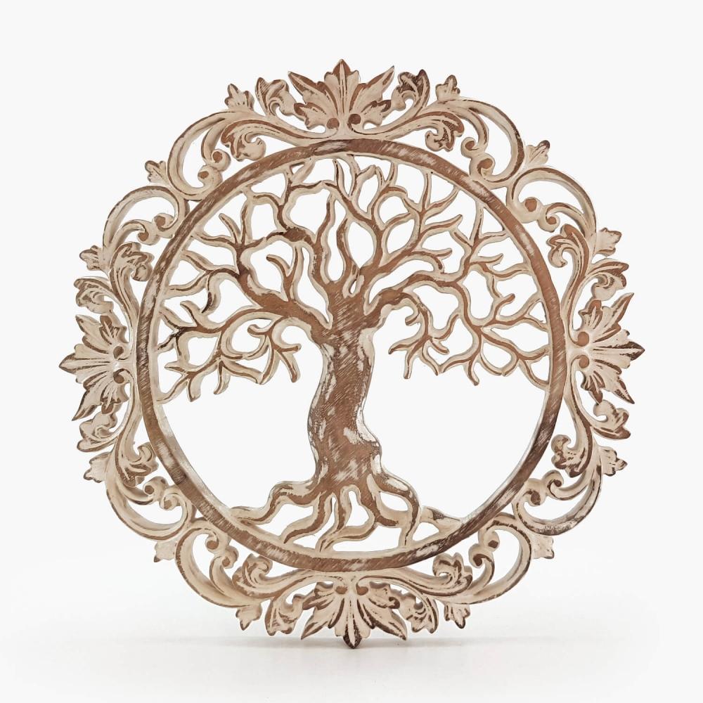 Painel Árvore da Vida Branco - Foto 4