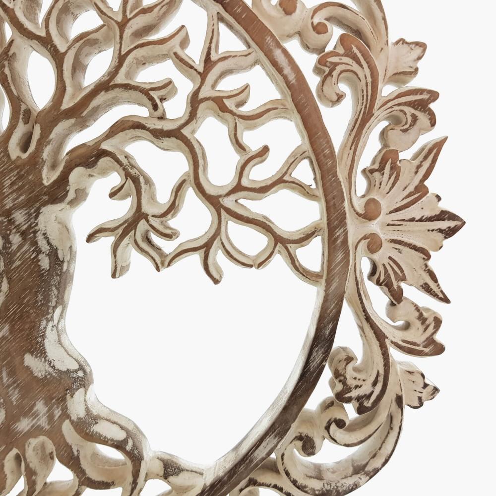 Painel Árvore da Vida Branco - Foto 5