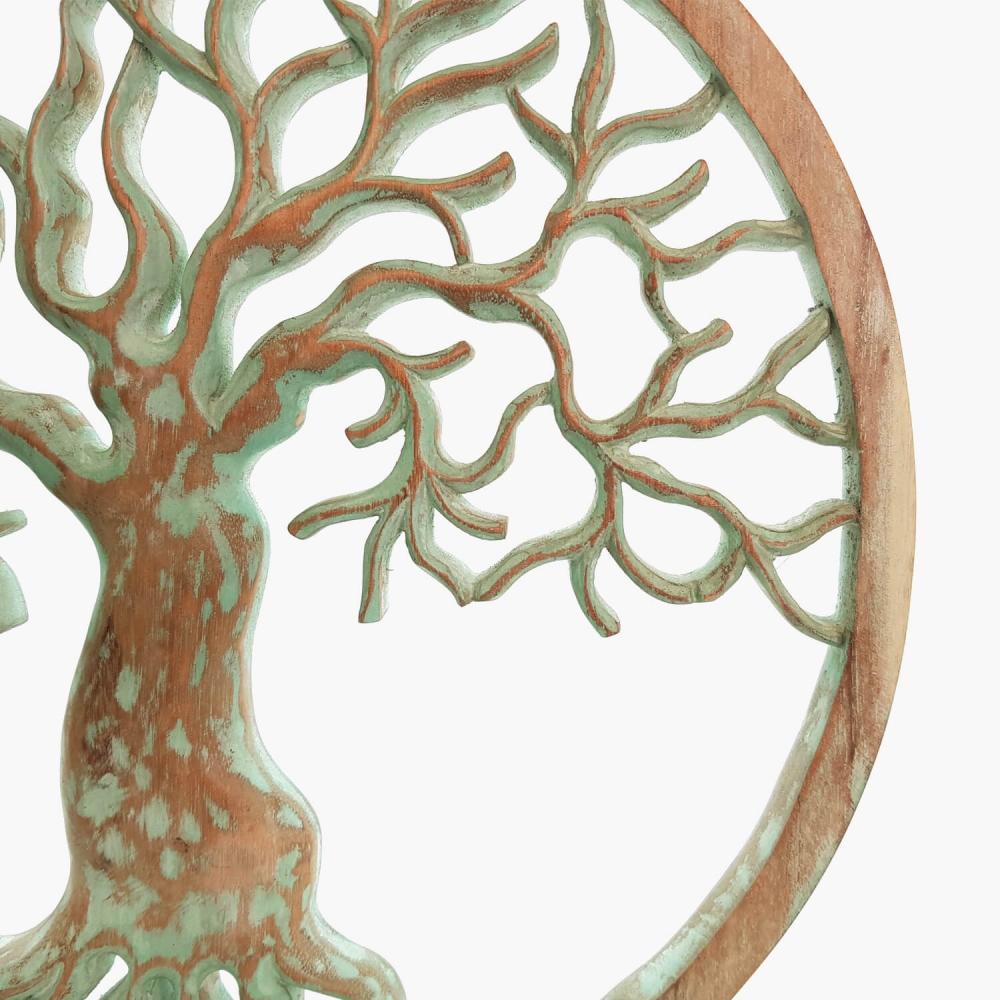 Painel Árvore da Vida Turquesa - Foto 2