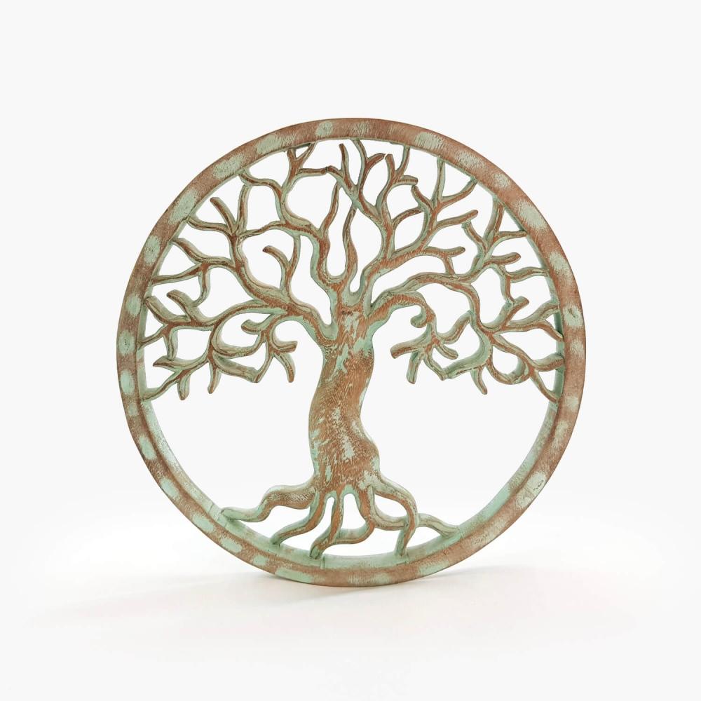 Painel Árvore da Vida Turquesa - Foto 3