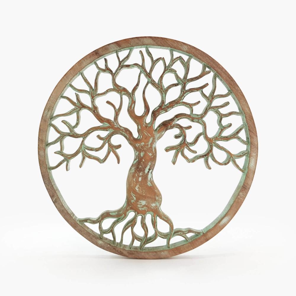 Painel Árvore da Vida Turquesa - Foto 4