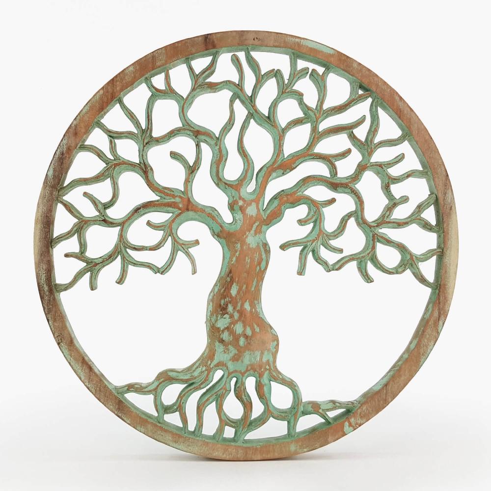 Painel Árvore da Vida Turquesa - Foto 5