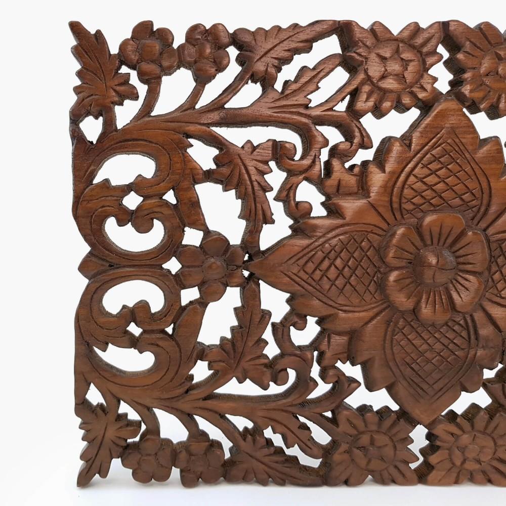 Painel Thai Floral 30x45  - Foto 2