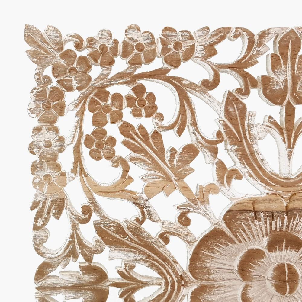 Painel Thai Floral Provençal 60x60 (esp 2cm) - Foto 2