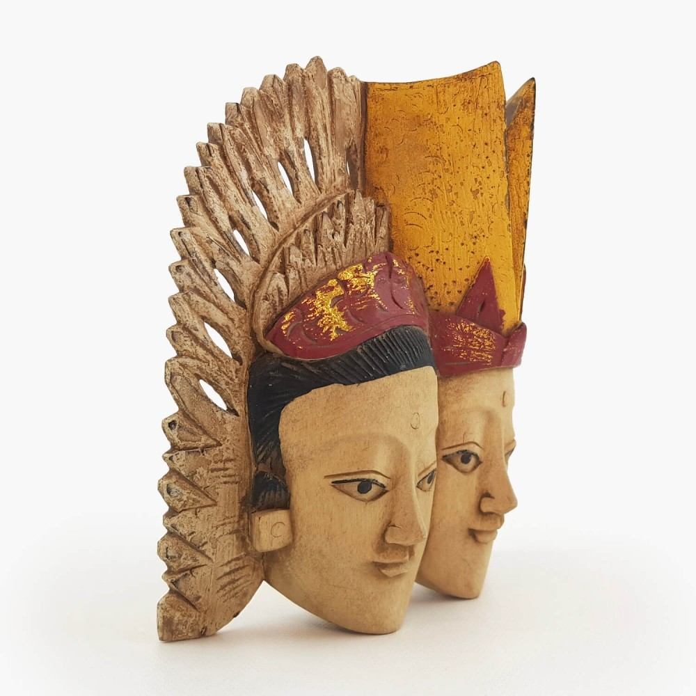 Painel Rama e Sita 15cm - Foto 2