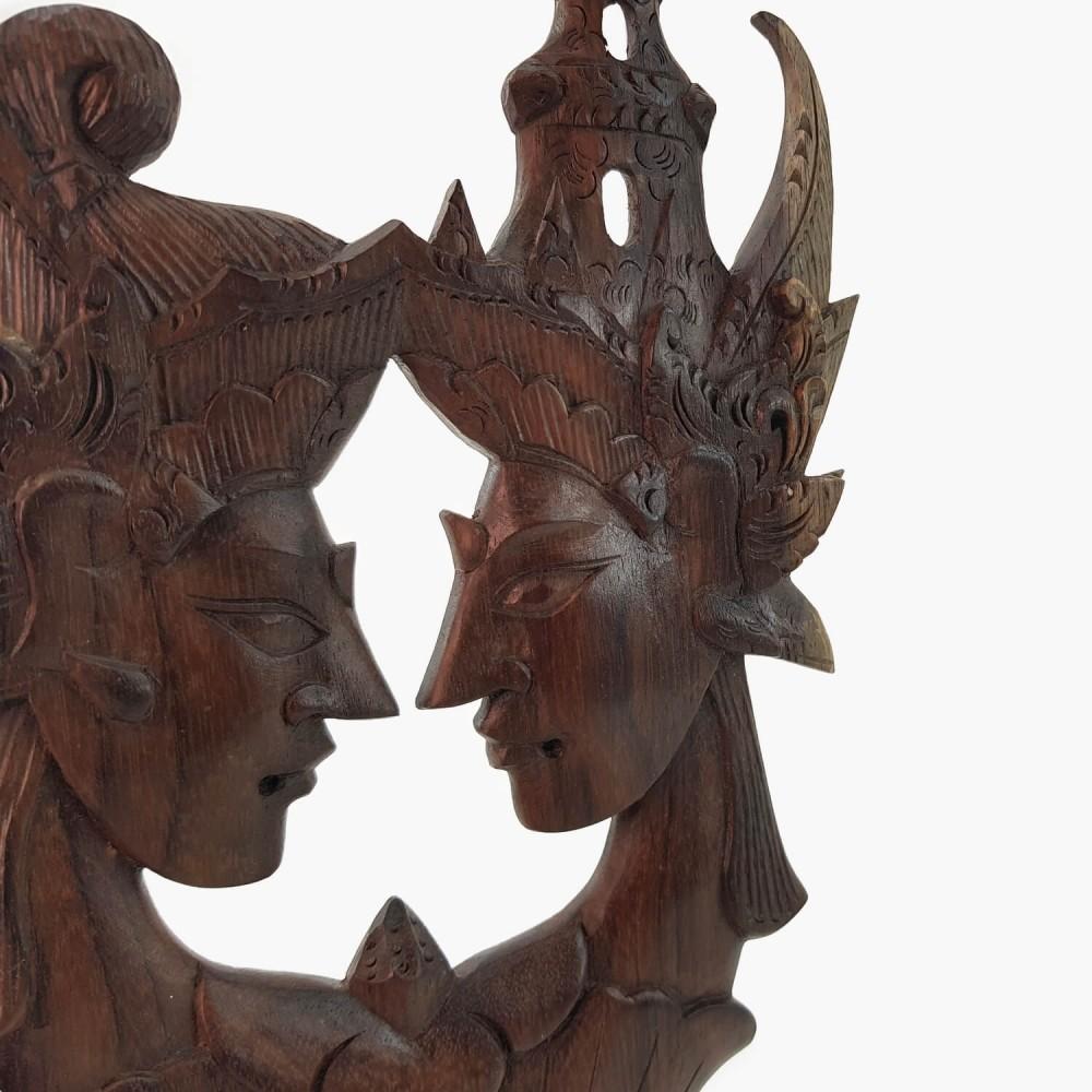 Painel Rama e Sita 30cm - Foto 2