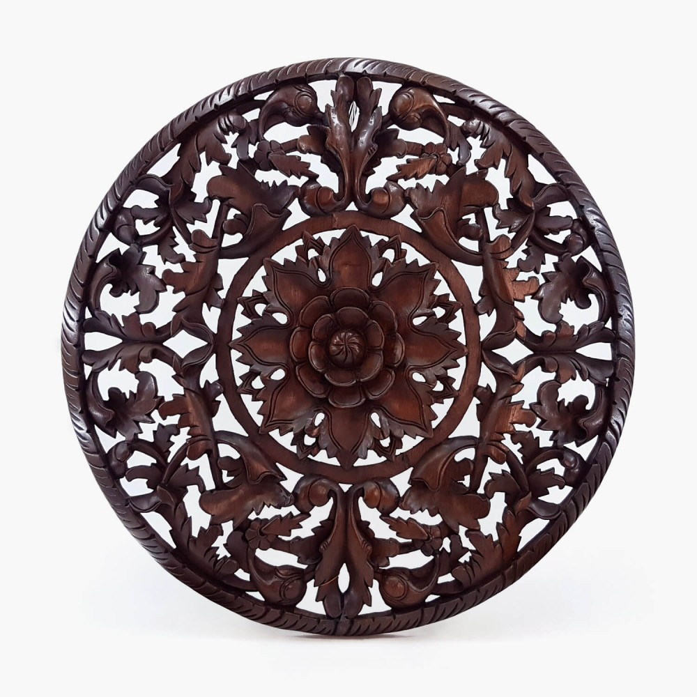 Painel Thai Mandala 90cm (ESP 4cm) - Foto 1