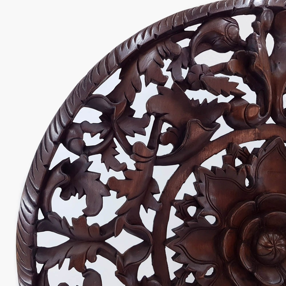 Painel Thai Mandala 90cm (ESP 4cm) - Foto 2