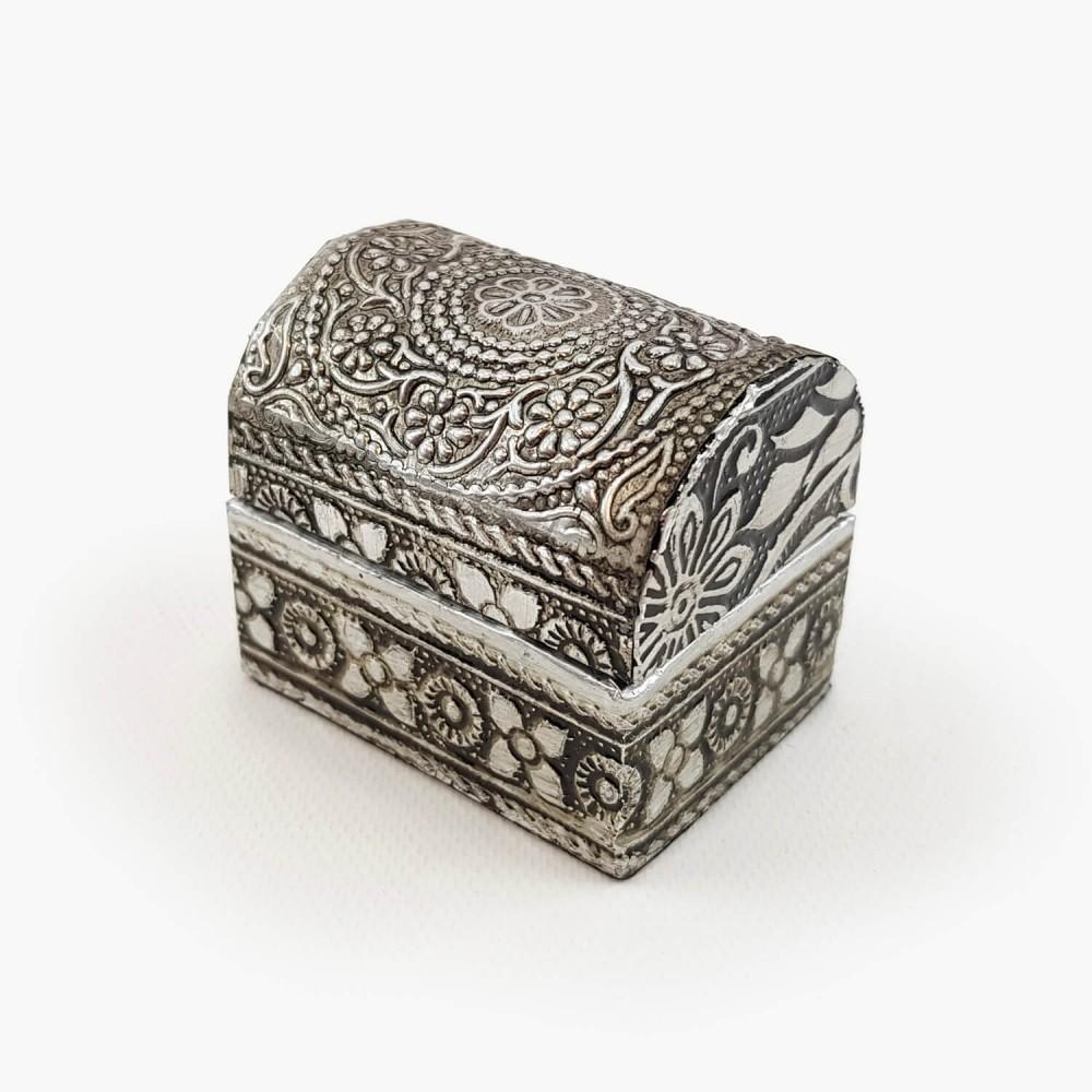Porta-joias arabescos - 4x5cm - Foto 1
