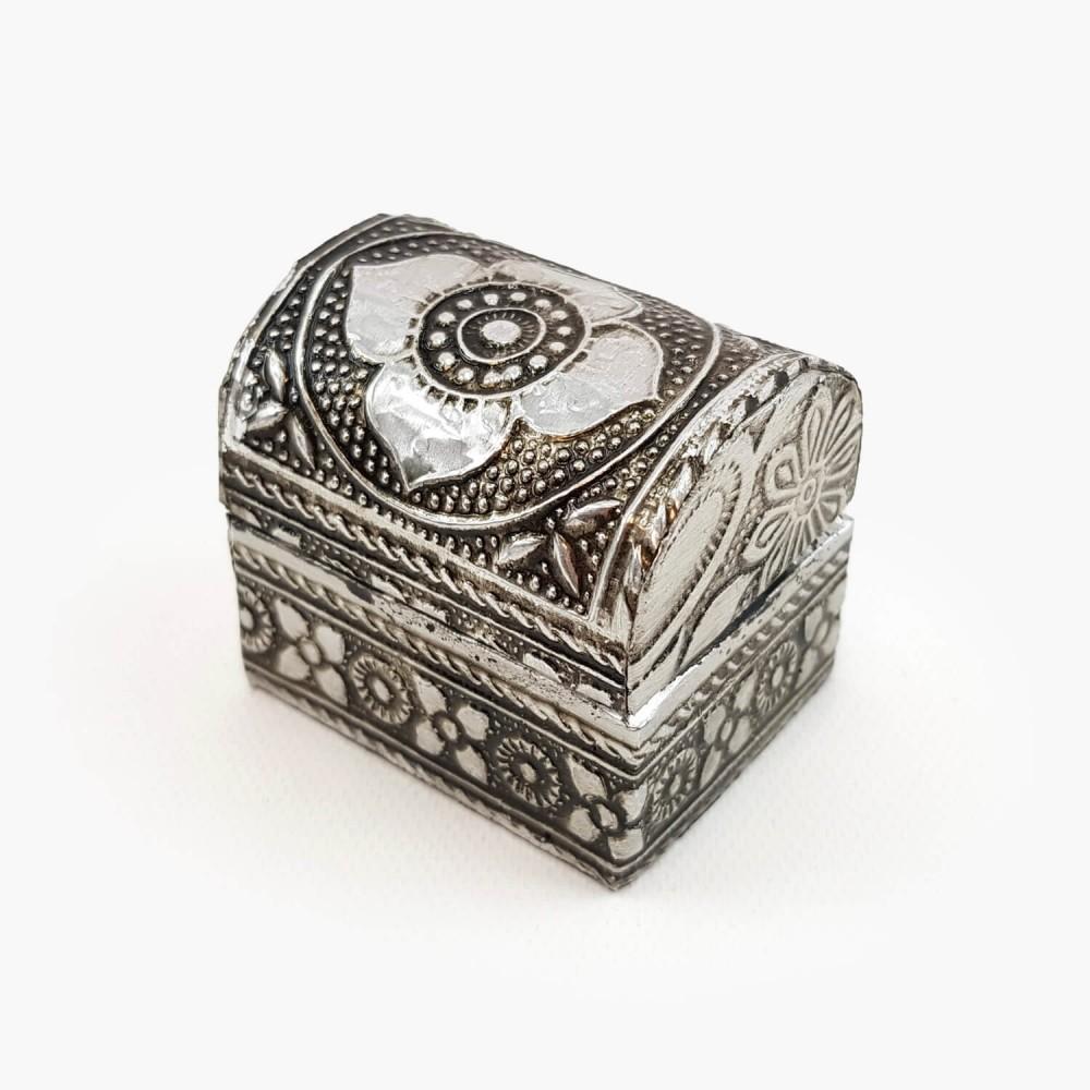 Porta-joias baú - 4x5cm - Foto 1