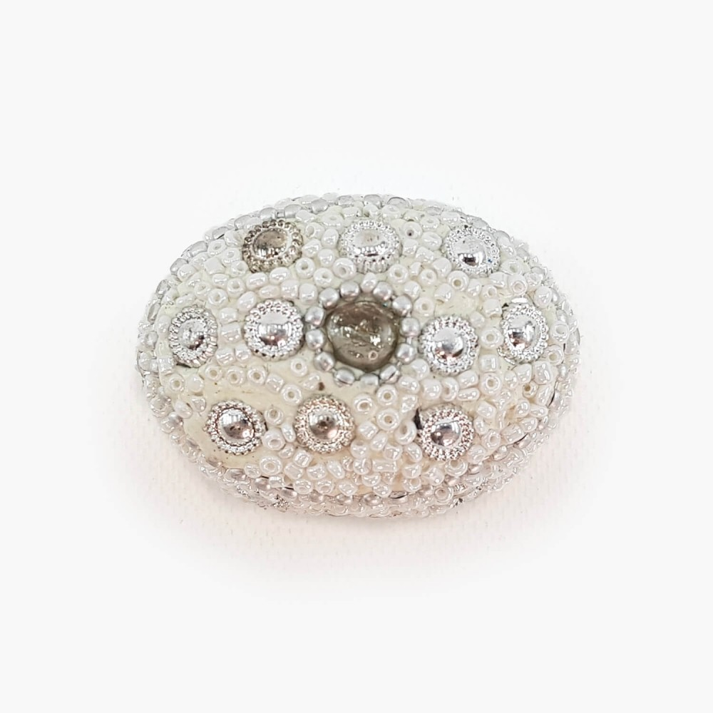 Porta-joias branco - 4x5cm - Foto 3