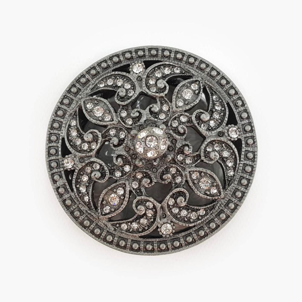 Porta-joias prateado - 6,5cm - Foto 3